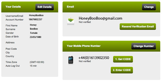 ComeOn! Casino Verify email and mobile   NetEnt Casinos