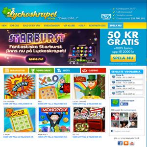 Casino online 50 kr gratis