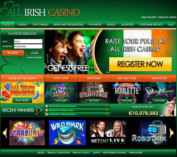 All Irish Casino Review