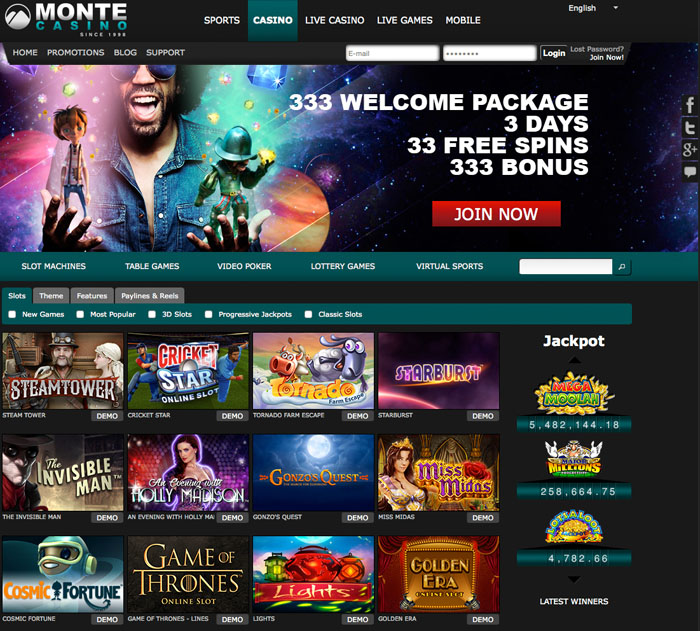 virtual online casino instant play