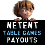 NetEnt Table Games Payout Percentages Listed for all TABLE GAMES