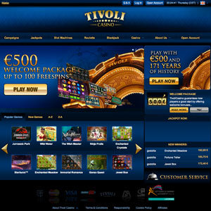 tivoli casino ipad