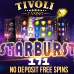 171 No Deposit Free Spins Norway, Finland, Germany, Ireland, Malta, Canada, Sweden and UK at Tivoli Casino.