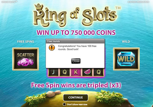 KingOfSlots-100FreeSpins