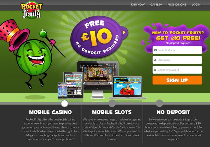 10 Free No Deposit Casino Uk