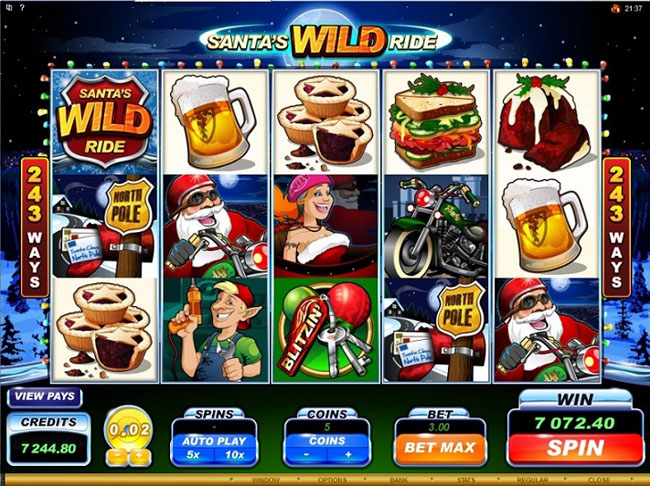 Santas-Wild-Ride-Slot-Big-Win