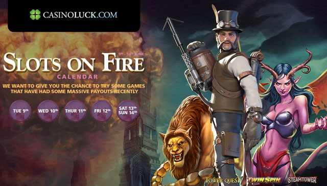 euro online casino sizzling games