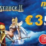 €3 Microgaming No Deposit Bonus to play Thunderstruck 2 available at NoxWin