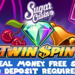10 No Deposit Real Cash Free Spins on Twin Spin Slot at Sugar Casino