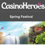 CasinoHeroes Easter Weekend Free Spins 2016: Get 125 Free Spins daily