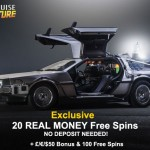 20 REAL CASH Free Spins No Deposit Needed + HUGE 250% Bonus & 100 Free Spins at Casino Cruise