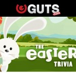 Get Free Spins & Cash Prizes EVERYDAY by taking part in the Guts Casino 2016  Easter Trivia