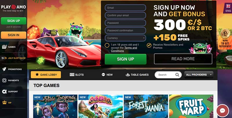 Playamo Casino Review - Playamo™ Slots & Bonus | playamo.com