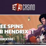 Get 100 Free Spins on Jimi Hendrix Slot with our EXCLUSIVE BetAt Casino Bonus code