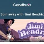 1000 Jimi Hendrix Freespins now available at CasinoHeroes