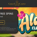 Get 20 Aloha! Cluster Pays free spins No deposit required at Gold Club Casino