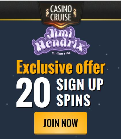 No Deposit Jimi Hendrix Free Spins