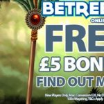 BetReels Casino | £5 No Deposit Bonus & 200% Welcome Bonus
