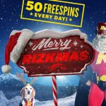 Merry RizkMas – Celebrate with 50 Free Spins Everyday