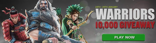 10 000 Warriors Free Spins