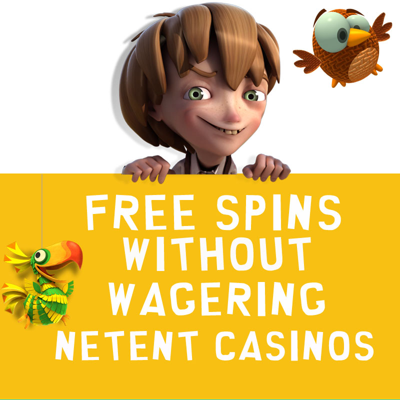 Free Spins without Wagering NetEnt Casinos