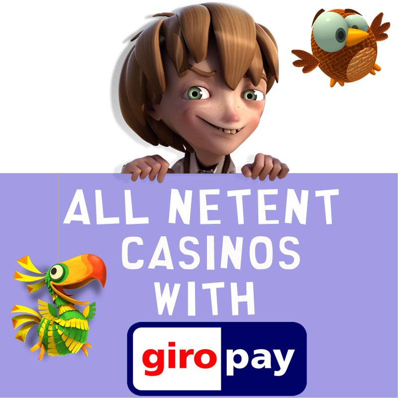 NetEnt Casinos with GiroPay