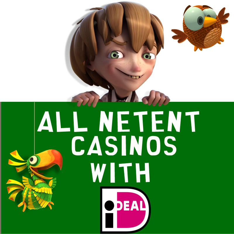 NetEnt Casinos with iDeal