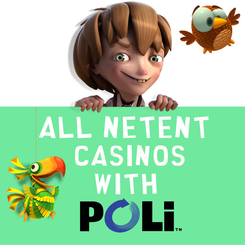 NetEnt Casinos with POLi