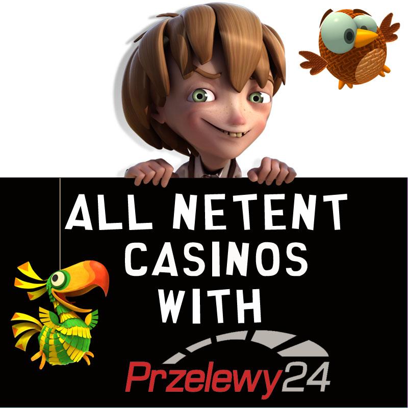 NetEnt Casinos with Przelewy24