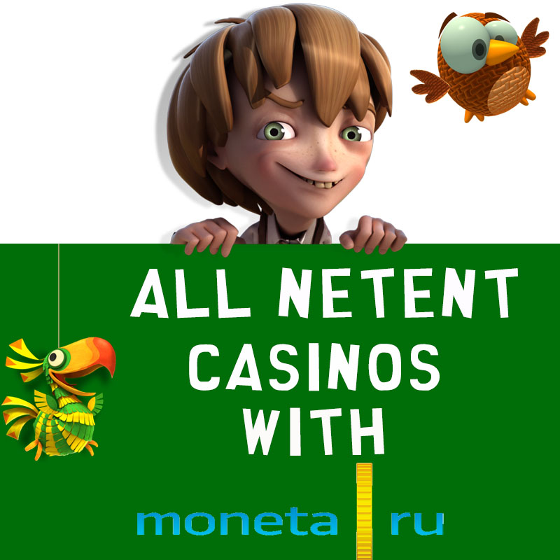 NetEnt Casinos with Moneta
