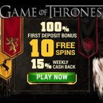 Argo Casino Review | EXCLUSIVE 100% Bonus + 10 Game of Thrones free spins no deposit