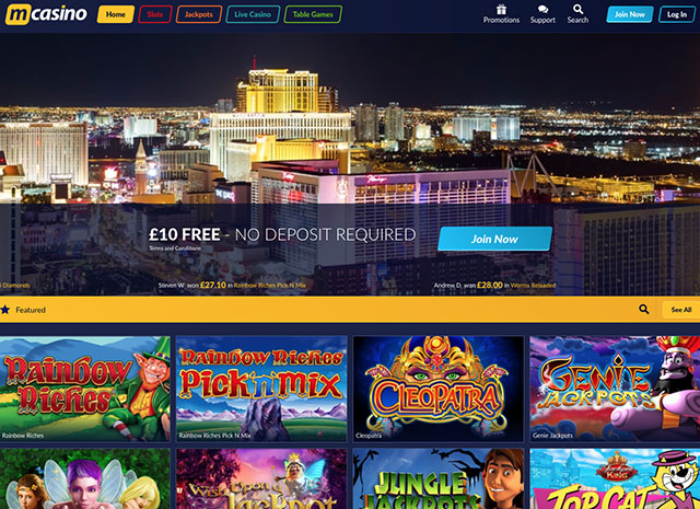 M Casino Review