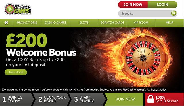 PlayCasinoGames Casino Review