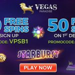 March Free Spins now available at Vegas Paradise Casino | 20 No Deposit Free Spins up for grabs