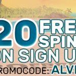 April Offers: Get 20 No Deposit free spins at Vegas Paradise until 23 April 2017