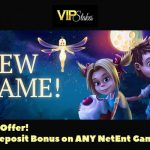 Limited offer! Get your VIP Stakes 9 Euro Bonus No Deposit Required until 14 May 2017