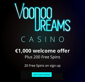 voodoo dreams casino no deposit