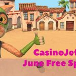 New June Promotional Offer! CasinoJefe June Free Spins Calendar now available