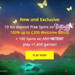 Exclusive Jetbull No Deposit Free Spins Promotion – Get 10 No Deposit Free Spins on Butterfly Staxx now!