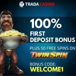Trada Casino Free Spins Welcome Offer – Get 50 Twin Spin Free Spins