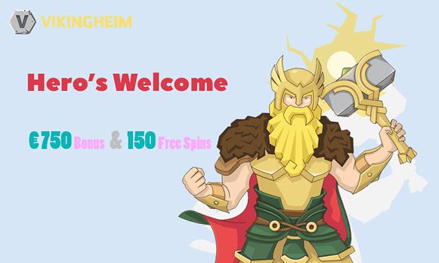 VikingHeim Casino Welcome Bonus