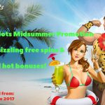 WildSlots Midsummer Promotion – Celebrate summer with some red hot free spins and bonuses!