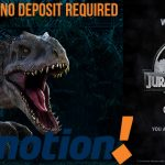 BetMotion Casino Promotion – Get 10 Jurassic World Free Spins No Deposit Required on sign up!