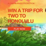 NextCasino Aloha Summer Promotion – win an all-expenses paid trip for two to Honolulu
