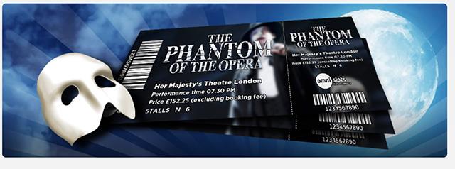 OmniSlots Phantom of the Opera Free Spins