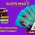 SlotsMagic Tournament Promotion: Stand a chance to win a Super Duper Mini Cooper!