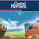 CasinoHeroes Free Spins Promotion – Get your Free Spins until the end of August!
