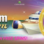 Limited offer! Win CasinoLuck Free Spins by playing Redeem the Dream Slot today!