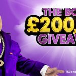 Get in on the BGO Casino Giveaway of £200 000 courtesy of The Boss
