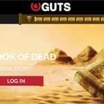 Guts Casino Book of Dead giveaway is worth a Massive 50k